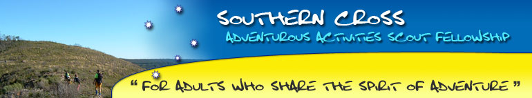 Southern Cross Adventurous Activities Scout Fellowship (Test website) logo